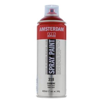 Amsterdam verf acrylverfspray karmijn 400ml