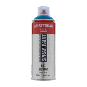 Amsterdam verf acrylverfspray koningsblauw 400ml