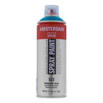 Amsterdam verf acrylverfspray turkooisblauw 400ml