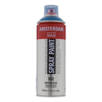 Amsterdam verf acrylverfspray grijsblauw 400ml