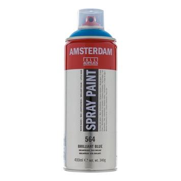 Amsterdam verf acrylverfspray briljantblauw 400ml