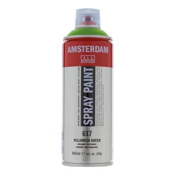Amsterdam verf acrylverfspray geelgroen 400ml