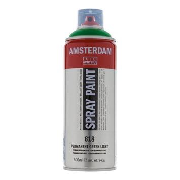 Amsterdam verf acrylverfspray permanentgroen licht 400ml