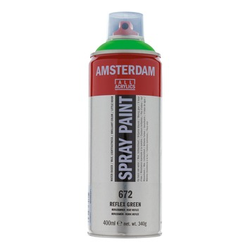 Amsterdam verf acrylverfspray reflexgroen 400ml
