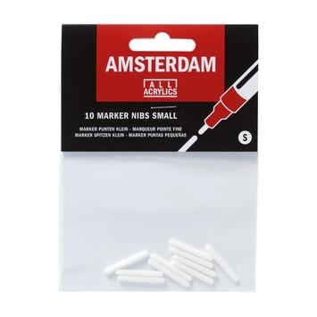 Amsterdam verf acrylmarker punten klein (10 stuks)