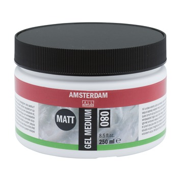 Amsterdam verf gel medium mat 250ml
