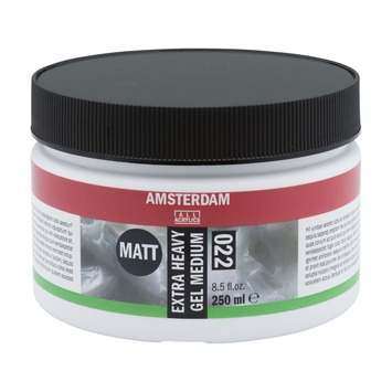Amsterdam verf extra heavy gel medium mat 250ml