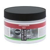 Amsterdam verf extra heavy gel medium mat 250ml