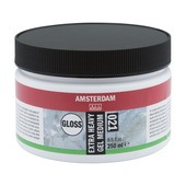 Amsterdam verf extra heavy gel medium glans 250ml
