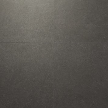 Le Noir et Blanc Dreamclick PVC Vloertegel Natuursteen Antraciet 4V-groef 61x61 cm2,25 m2