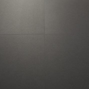 Le Noir et Blanc Dreamclick PVC Vloertegel Antraciet 4V-groef 61x61 cm2,25 m2