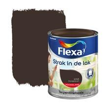 Flexa Strak in de Lak hoogglans donkerbruin 750 ml