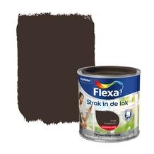 Flexa Strak in de Lak hoogglans donker bruin 250 ml