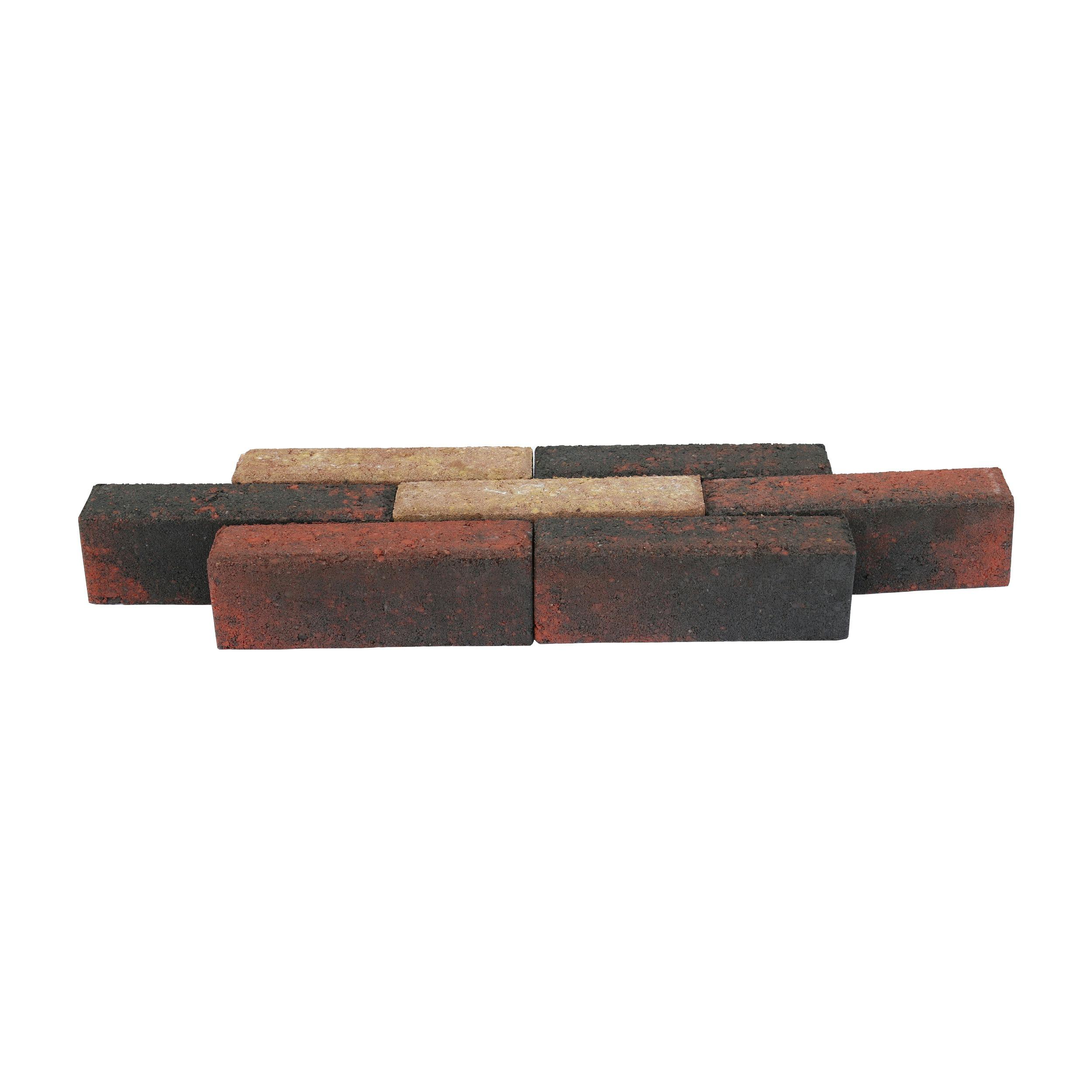 Klinker Beton Bont Waalformaat 20x5x7 cm - 66 Klinkers / 0,66 m2