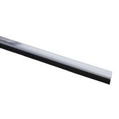Handson tochtstrip kunststof 93 cm met borstel wit