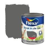 Flexa Strak in de Lak hoogglans antraciet 750 ml
