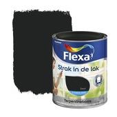 Flexa Strak in de Lak zijdeglans zwart 750 ml