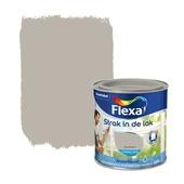 Flexa Strak in de Lak zijdeglans aluminium 250 ml