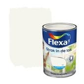 Flexa Strak in de Lak zijdeglans wit 1,25 l