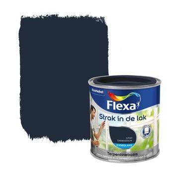 Flexa Strak in de Lak zijdeglans gelders blauw 250 ml