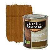 CetaBever binnenbeits transparant zijdeglans rustiek eiken 750 ml