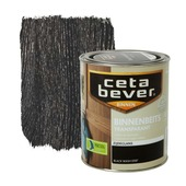 CetaBever binnenbeits transparant zijdeglans black wash 750 ml