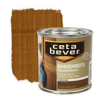 CetaBever binnenbeits transparant zijdeglans rustiek eiken 250 ml