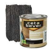 CetaBever binnenbeits transparant zijdeglans black wash 250 ml
