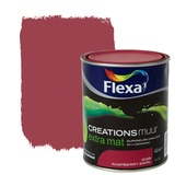 Flexa Creations muurverf extra mat raspberry swirl 1 l