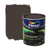 Flexa Creations muurverf extra mat pure cocao 1 l