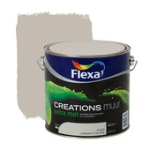 Flexa Creations muurverf extra mat urban taupe 2,5 l
