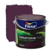 Flexa Creations muurverf extra mat royal intrigue 2,5 l