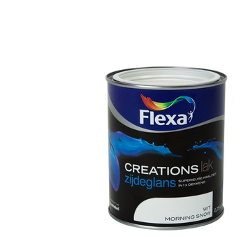 Flexa Creations lak zijdeglans morning snow 750 ml