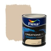 Flexa Creations lak zijdeglans cafe latte 750 ml