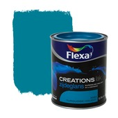 Flexa Creations lak zijdeglans turquoise holiday 750 ml