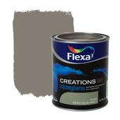 Flexa Creations lak zijdeglans spacious grey 750 ml