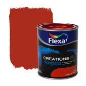 Flexa Creations lak zijdeglans vibrant red 750 ml