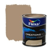 Flexa Creations lak zijdeglans bakery brown 750 ml