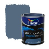 Flexa Creations lak zijdeglans blueberry dream 750 ml