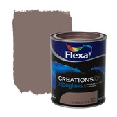 Flexa Creations lak zijdeglans chocolate milk 750 ml