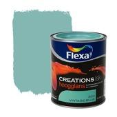 Flexa Creations lak hoogglans vintage blue 750 ml