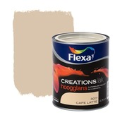Flexa Creations lak hoogglans cafe latte 750 ml