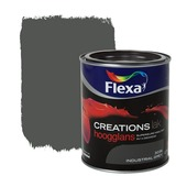 Flexa Creations lak hoogglans industrial grey 750 ml