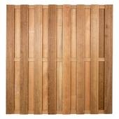 Schutting hardhout ca. 180x180 cm recht