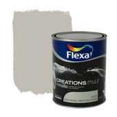 Flexa Creations metallic muurverf mat crystal reflection 1 l