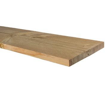 Tuinplank Douglas ruw ca. 2,2x20 cm, lengte 300 cm