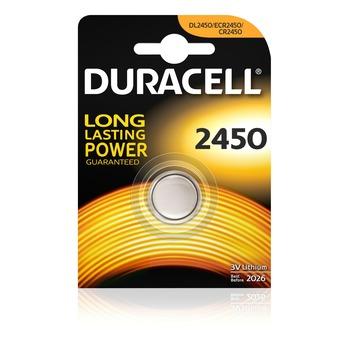 Duracell Batterij CR2450 Lithium-knoopcelbatterij 3V