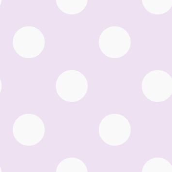Vliesbehang stippen roze-wit (dessin 100101)