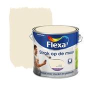 Flexa Strak op de Muur muurverf roomwit 2,5 l