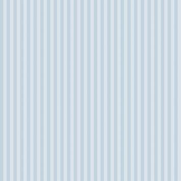 Papierbehang smalle streep blauw (dessin df73799)